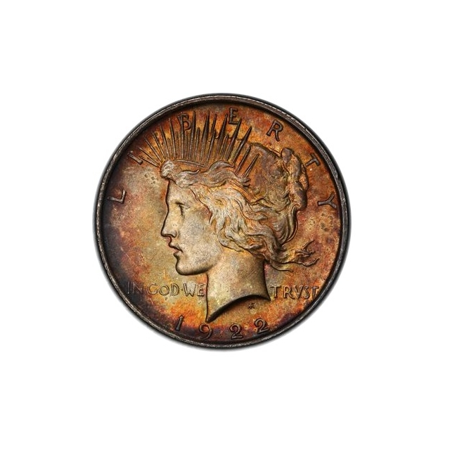 1922 $1 Peace Dollar PCGS MS63 (CAC) #3298-2