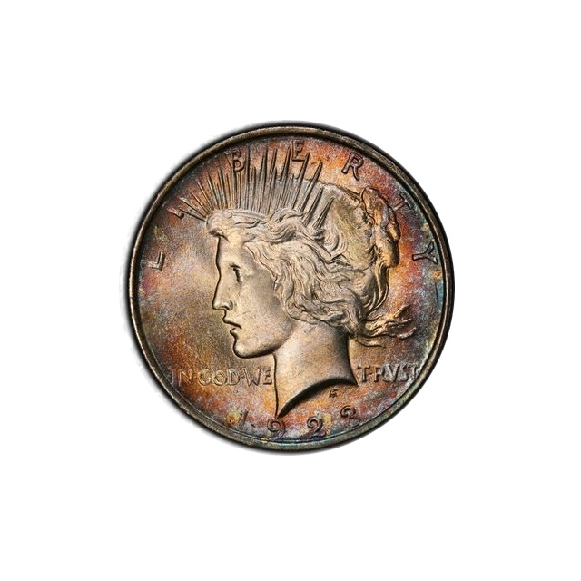 1923 $1 Peace Dollar PCGS MS64 #3298-20 Toner