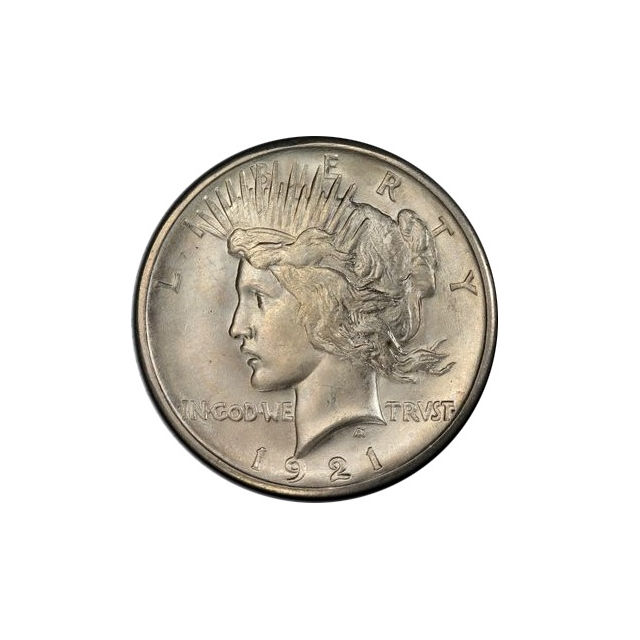 1921 $1 Peace Dollar - Type 1 High Relief PCGS MS66  (CAC) #3311-5 Monster 21-P !