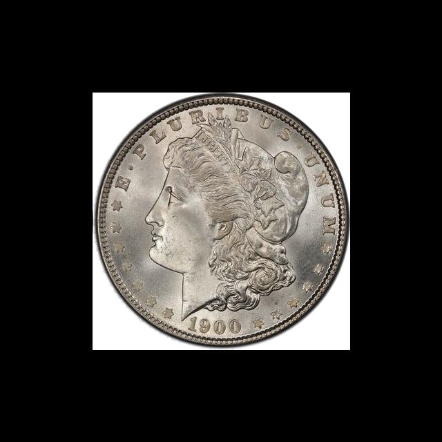 1900 $1 Morgan Dollar PCGS MS66+ (CAC) #3325-1