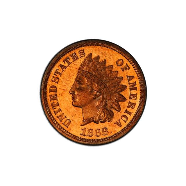 1868 1C Indian Cent - Type 3 Bronze PCGS PR65CAM #3327-1