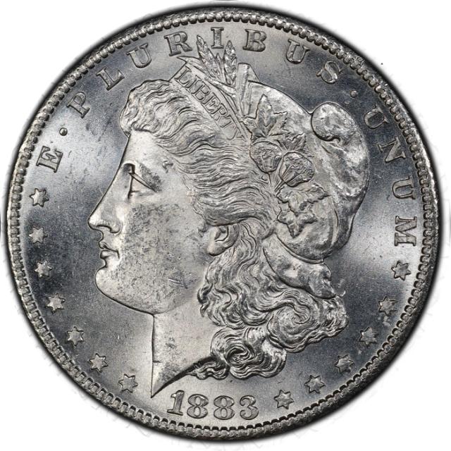 1883-S $1 Morgan Dollar PCGS MS64 #3332-25