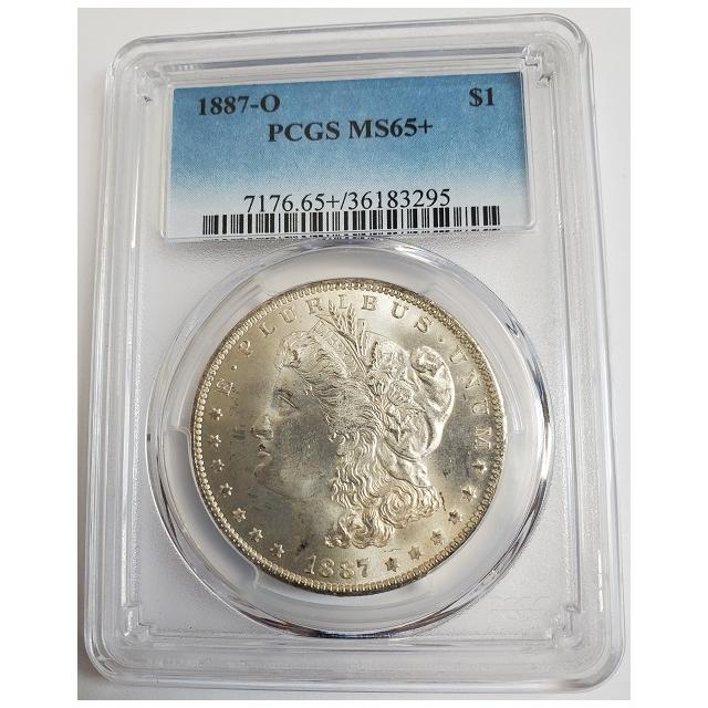 1887-O $1 Morgan Dollar PCGS MS65+ #3332-38