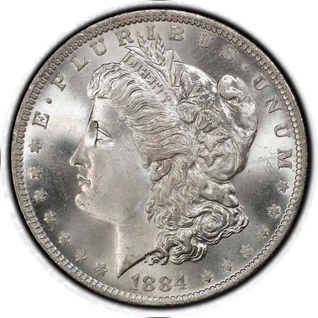 1884-O $1 Morgan Dollar PCGS MS67+ (CAC) #3332-28