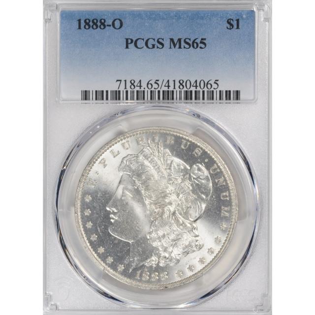 1888-O $1 Morgan Dollar PCGS MS65 3315-8