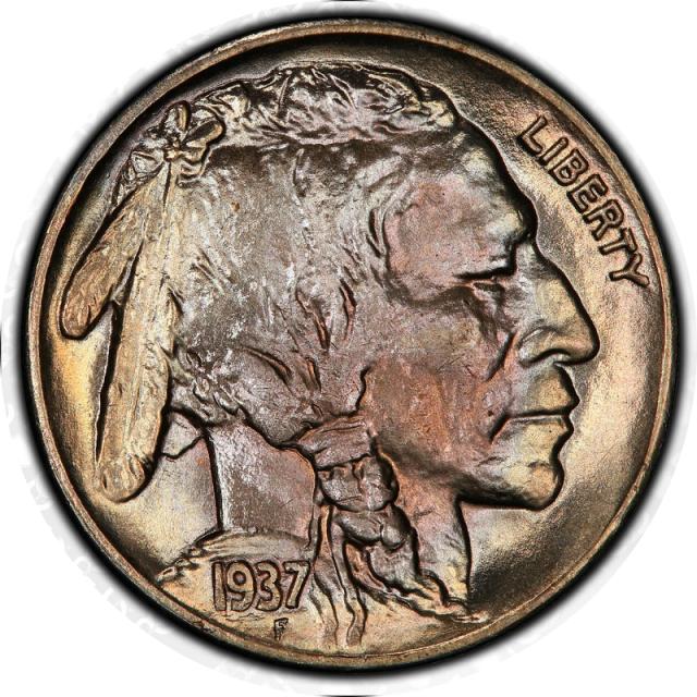 1937-S 5C Buffalo Nickel PCGS MS67 #3350-2