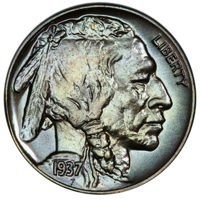 1937 5C Buffalo Nickel PCGS PR67 (CAC)