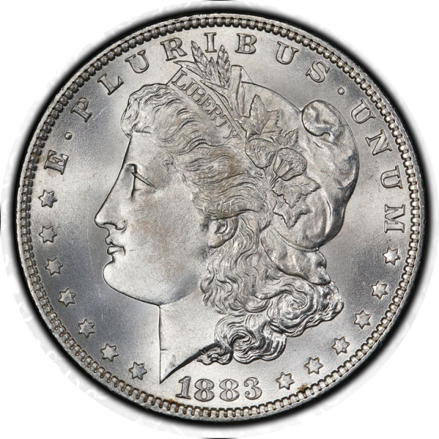 1883 $1 Morgan Dollar PCGS MS67+ (CAC) #3332-22