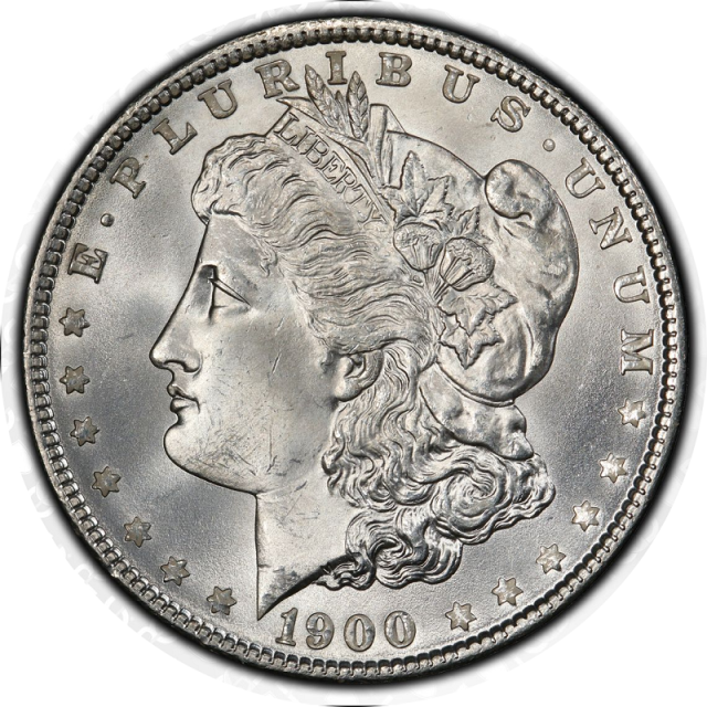 1900 $1 Morgan Dollar PCGS MS67 #3332-80