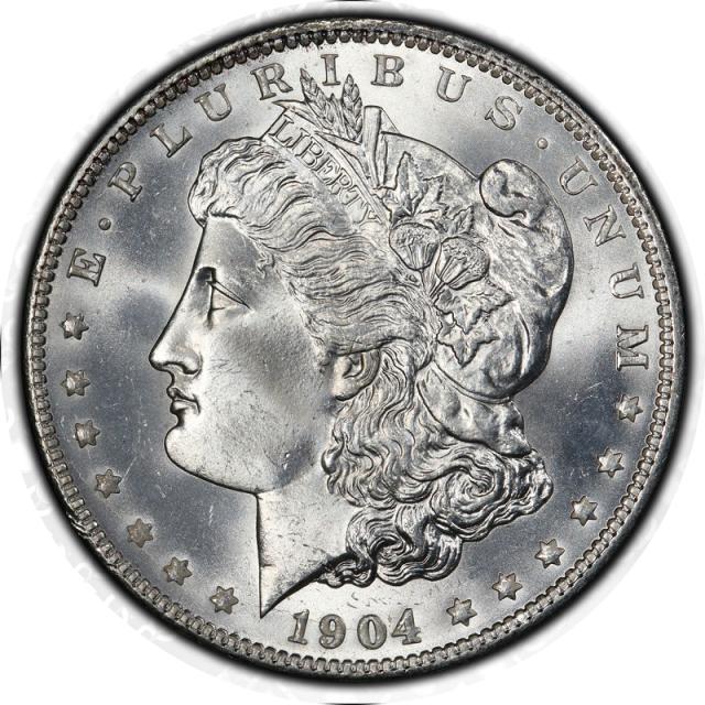 1904-O $1 Morgan Dollar PCGS MS67 #7999-99