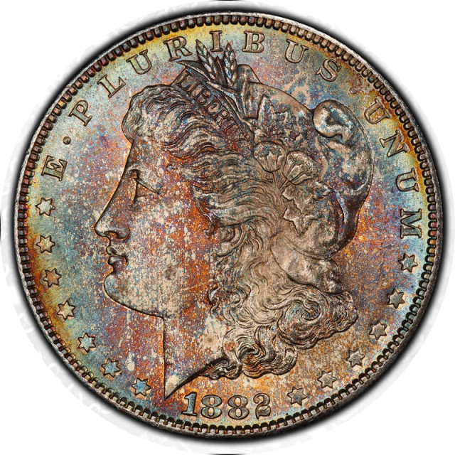 1882-S $1 Morgan Dollar PCGS MS67 #3350-20