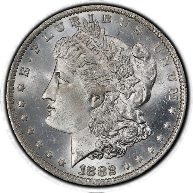 1882-O $1 Morgan Dollar PCGS MS66 #3332-20