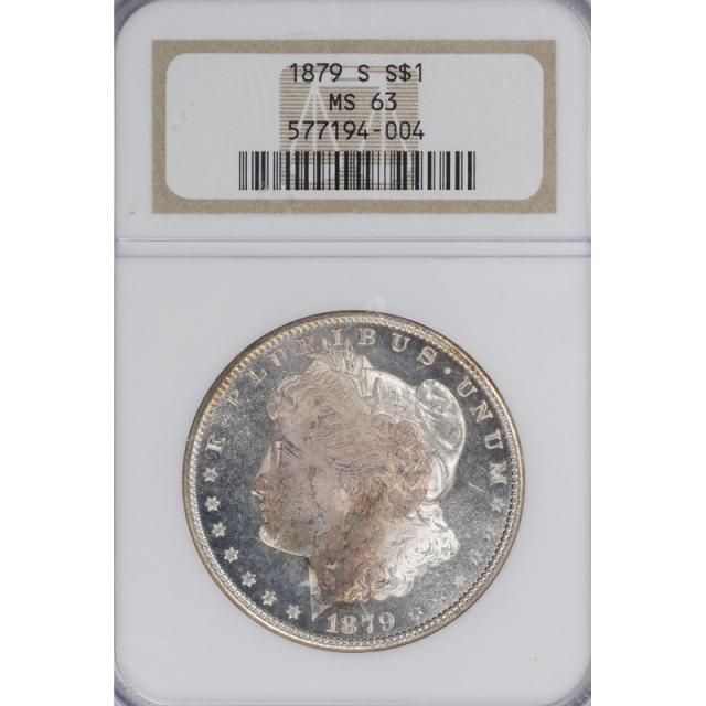 1879-S Morgan Dollar S$1 NGC MS63 3307-18