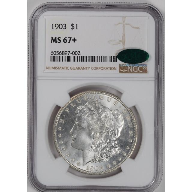1903 Morgan Dollar S$1 NGC MS67+ (CAC) #3347-8