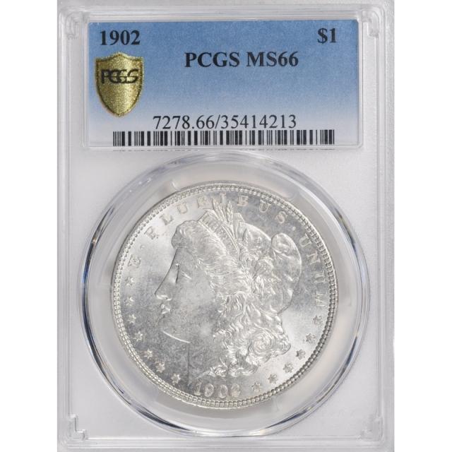 1902 $1 Morgan Dollar PCGS MS66